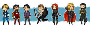 The Avengers by Avender