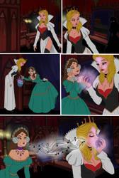 Alice in Wonderland 7 comic page by SerisaBibi