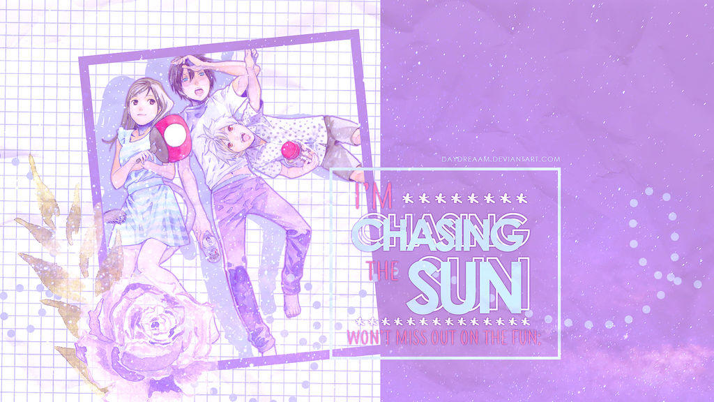 Chasing the Sun. by daydreaam
