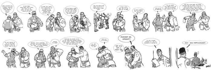 more team fortress dumbassery by KGBigelow