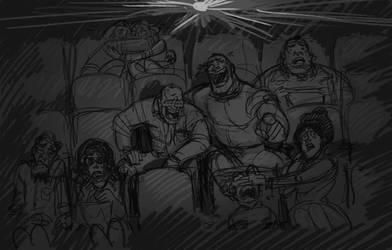 Sketch Dump - OTP challenge Day 3 by KGBigelow