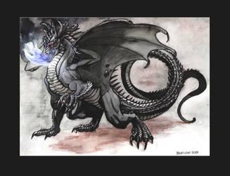 black dragon by KGBigelow