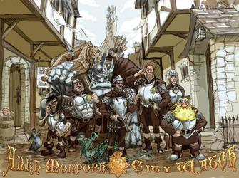 Ankh-Morpork City Watch by KGBigelow