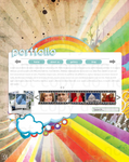 Colourful Portfolio Layout by theycallmebrettly