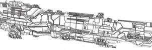 Vaygr Battleship by Vladimir3d