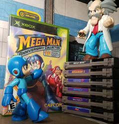 You forget, Mega Man. Robots cannot harm humans.. by ThePrincessRobotRoom