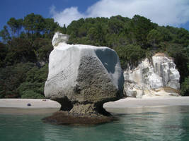 Square rock by CAStock
