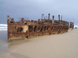 Maheno wreck 02 by CAStock