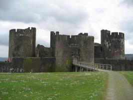 Ruin castle 1 by CAStock