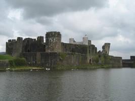 Ruin castle 2 by CAStock
