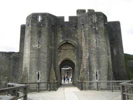 Ruin castle 4 by CAStock