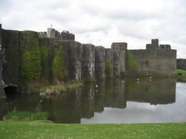 Ruin castle 8 by CAStock