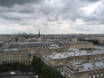 Paris cityscape 3 by CAStock