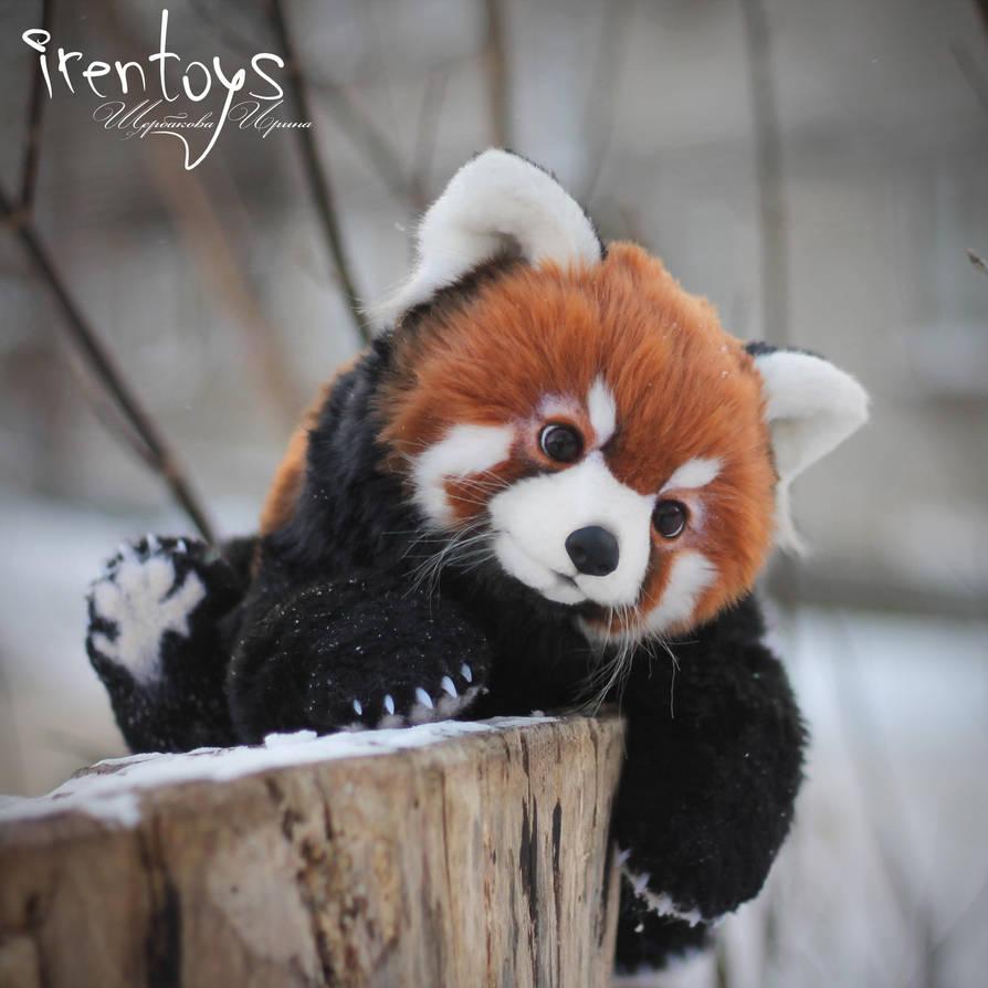 Red Panda Stuffed Toy By Irentoys On Deviantart