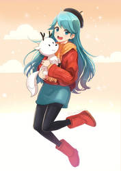 Hilda in my style by mikmix