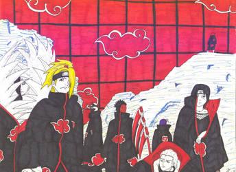 Naruto Bad Guys by mangalover101