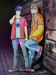 Matt and Allen by Arukia