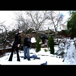 Snowball fight by samm66