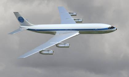 WIP Boeing 707-321B by boeing727223