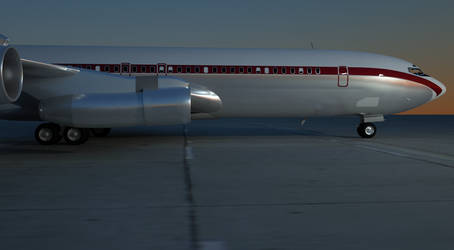 Boeing 707 late 60's by boeing727223