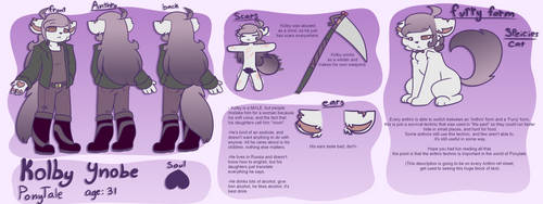 PT Kolby reference sheet (Edge mom) by synnibear03