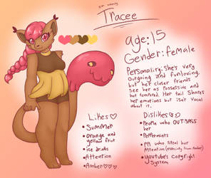 Tracee - Kemon ref by synnibear03