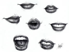 Lips by maga-a7x