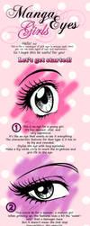 Manga girl eyes - 'tutorial' by maga-a7x