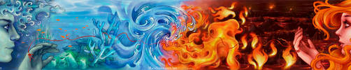 Water and Fire by maga-a7x