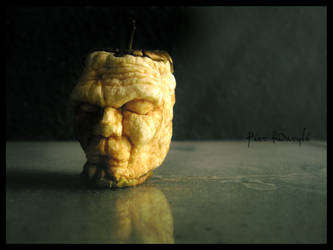 magritte's head 6 days later by fudaryli