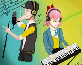 Luke x Hana - Asagao Academy (Tumblr Request) by Mizukitt