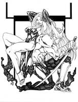 INES AND NECRO by stalk