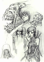 CHARACTER STUDIES 4 by stalk