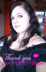 Thank you for 1000 Views by Kanue