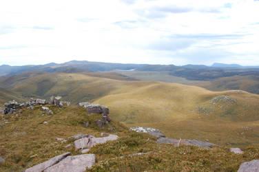 Rocky Ridge 06 'downward' by DruidWuStock