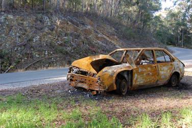 Rusty Car II by DruidWuStock