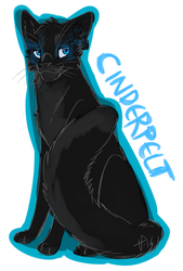 3. Favorite medicine cat: Cinderpelt by Tarotfox