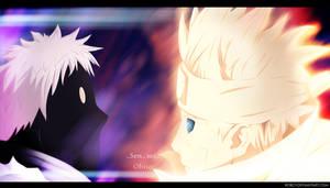 Minato vs Obito by RobCV