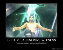 Demotivational: Jenova's Witness by Mrfipp
