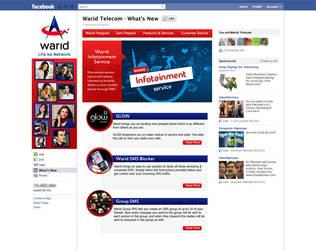 Blog Themed Facebook Tab Design by ujala