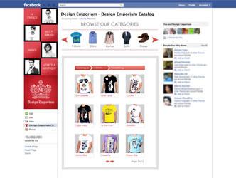 Catalogue Design on Facebook by ujala