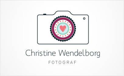 Christine Wendelborg FOTOGRAF Logo by ujala