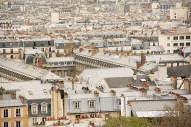 Paris Rooftops by curlyq139