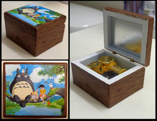 Totoro Music Box by silverz777