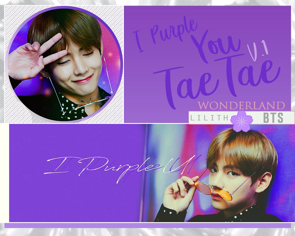 I Purple U Tae V.1 by NadeshikoKanade