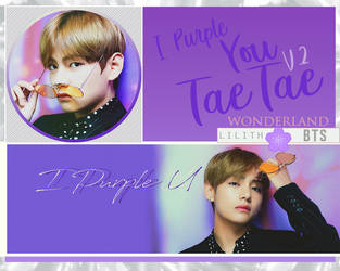 I Purple U Tae V.2 by NadeshikoKanade