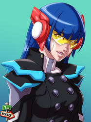 Commi - 0553 - Cyber Girl by 7th--Heaven