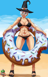 Commi - 0690 - The-Donut-Witch by 7th--Heaven