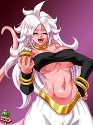 Majin Android 21 by 7th--Heaven