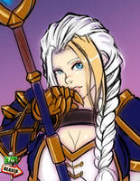 Patreon - Sketch - 0672 - Jaina by 7th--Heaven